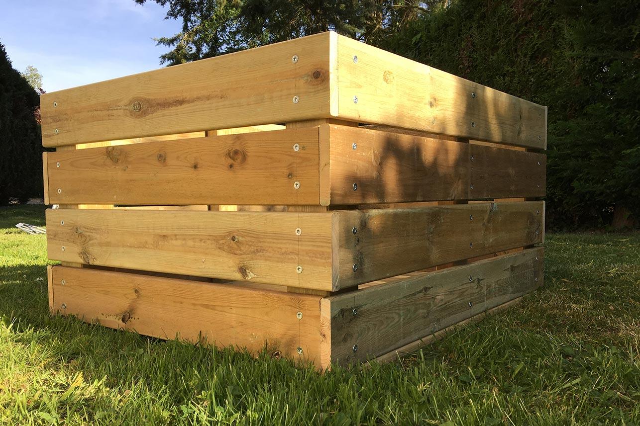 Box en bois