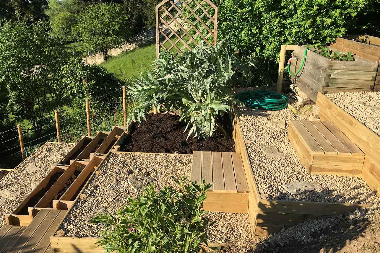 Jardin en espalier