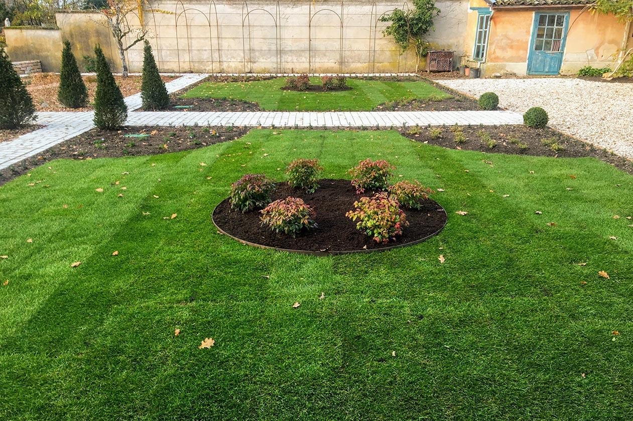 Jardin à la française - Pelouse